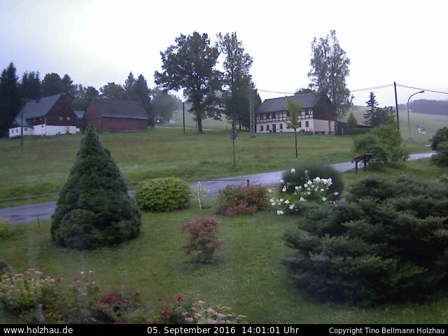 Wetter am 05.09.2016 in Holzhau (Erzgebirge)