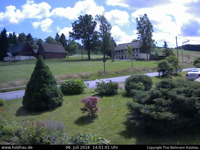 Wetter am 06.07.2016 in Holzhau (Erzgebirge)