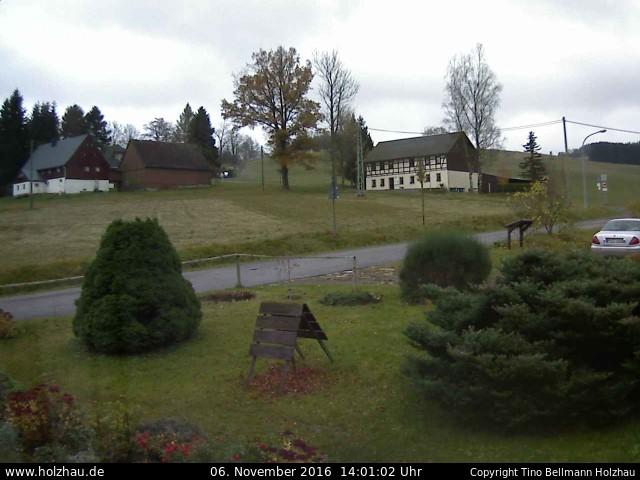 Wetter am 06.11.2016 in Holzhau (Erzgebirge)
