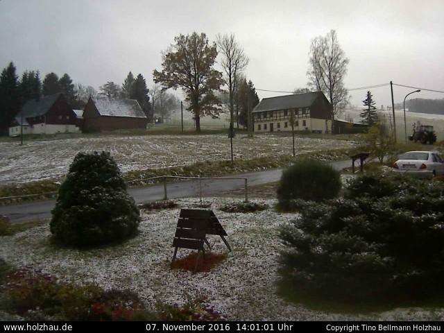 Wetter am 07.11.2016 in Holzhau (Erzgebirge)