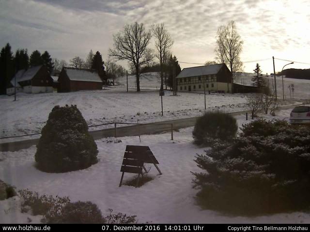 Wetter am 07.12.2016 in Holzhau (Erzgebirge)