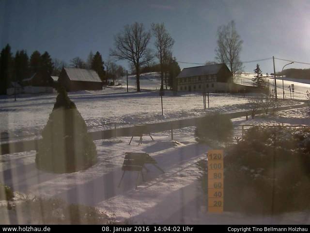 Wetter am 08.01.2016 in Holzhau (Erzgebirge)