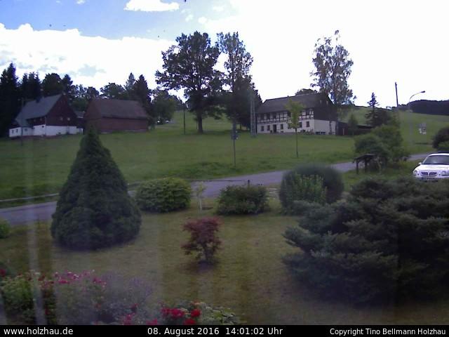 Wetter am 08.08.2016 in Holzhau (Erzgebirge)