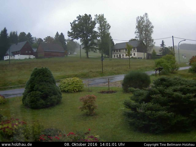 Wetter am 08.10.2016 in Holzhau (Erzgebirge)