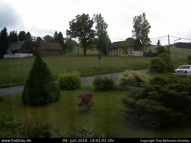 Wetter am 09.06.2016 in Holzhau (Erzgebirge)
