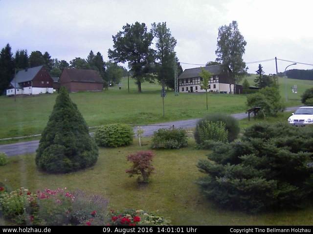 Wetter am 09.08.2016 in Holzhau (Erzgebirge)