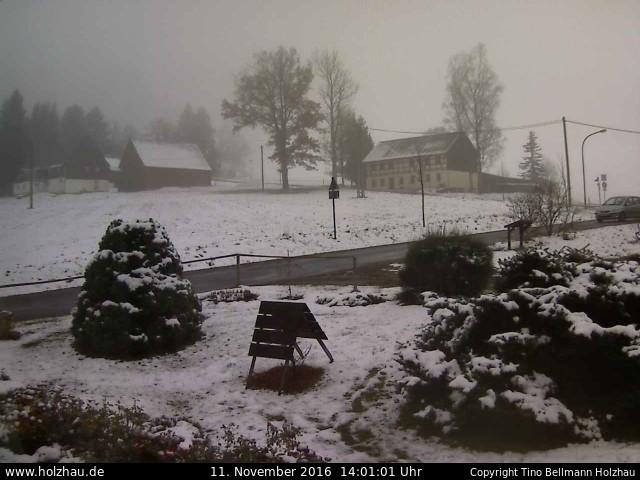 Wetter am 11.11.2016 in Holzhau (Erzgebirge)