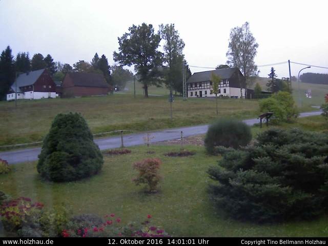 Wetter am 12.10.2016 in Holzhau (Erzgebirge)