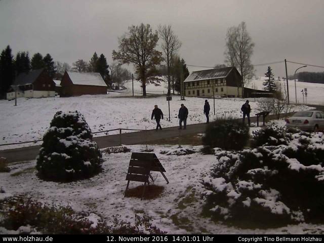 Wetter am 12.11.2016 in Holzhau (Erzgebirge)