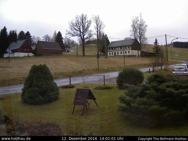Wetter am 12.12.2016 in Holzhau (Erzgebirge)