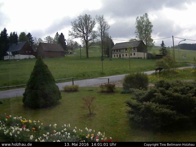 Wetter am 13.05.2016 in Holzhau (Erzgebirge)