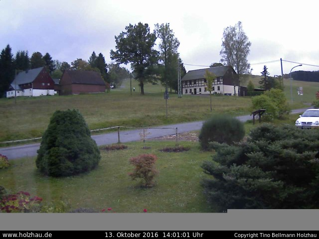 Wetter am 13.10.2016 in Holzhau (Erzgebirge)