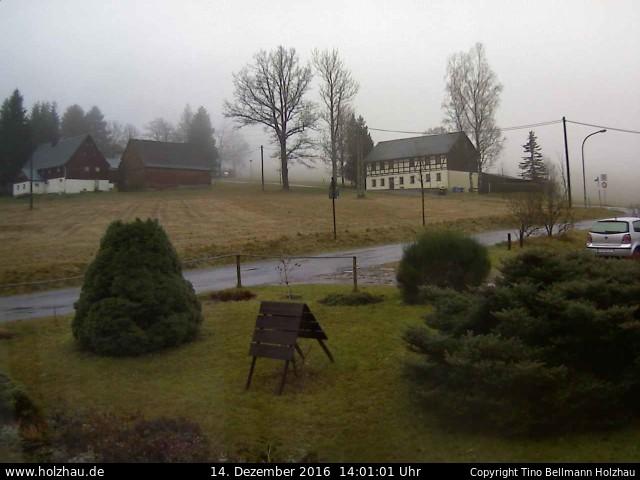 Wetter am 14.12.2016 in Holzhau (Erzgebirge)