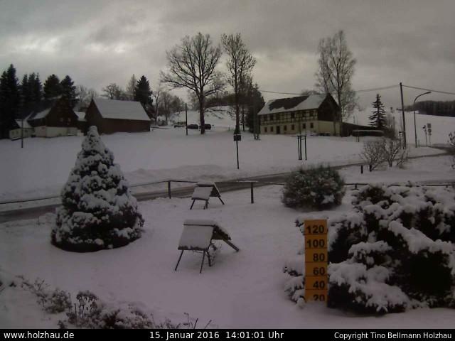 Wetter am 15.01.2016 in Holzhau (Erzgebirge)