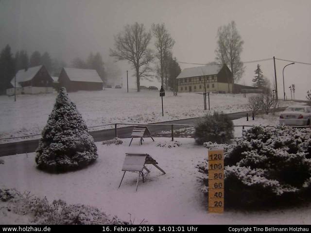 Wetter am 16.02.2016 in Holzhau (Erzgebirge)