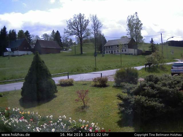 Wetter am 16.05.2016 in Holzhau (Erzgebirge)