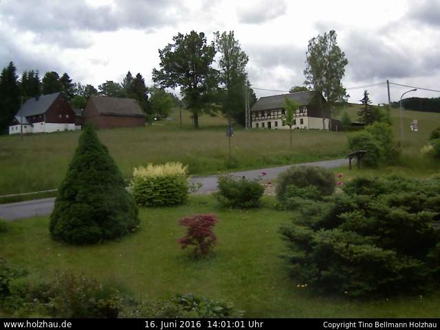 Wetter am 16.06.2016 in Holzhau (Erzgebirge)