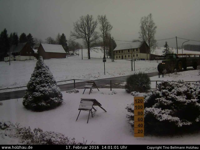 Wetter am 17.02.2016 in Holzhau (Erzgebirge)