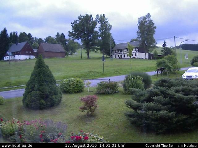 Wetter am 17.08.2016 in Holzhau (Erzgebirge)
