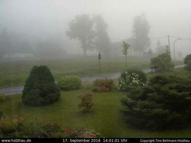 Wetter am 17.09.2016 in Holzhau (Erzgebirge)
