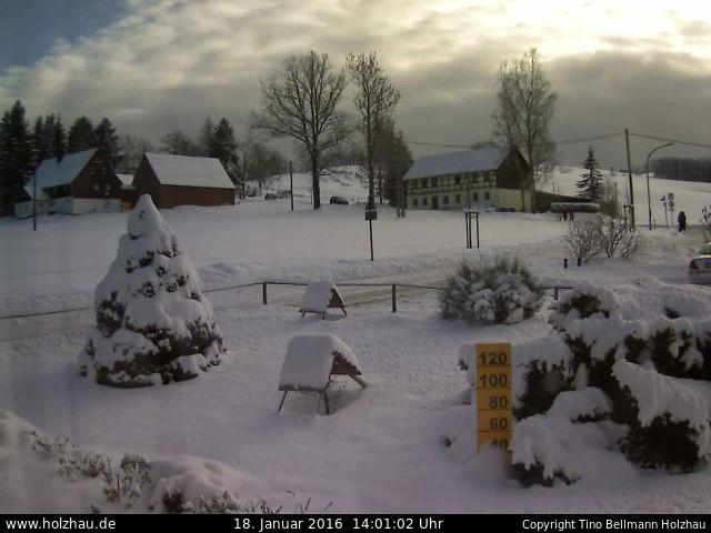 Wetter am 18.01.2016 in Holzhau (Erzgebirge)
