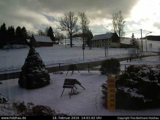 Wetter am 18.02.2016 in Holzhau (Erzgebirge)