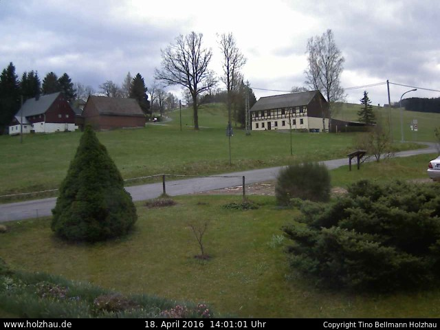 Wetter am 18.04.2016 in Holzhau (Erzgebirge)
