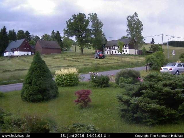 Wetter am 18.06.2016 in Holzhau (Erzgebirge)