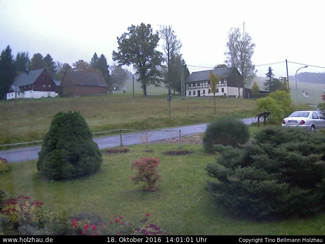 Wetter am 18.10.2016 in Holzhau (Erzgebirge)