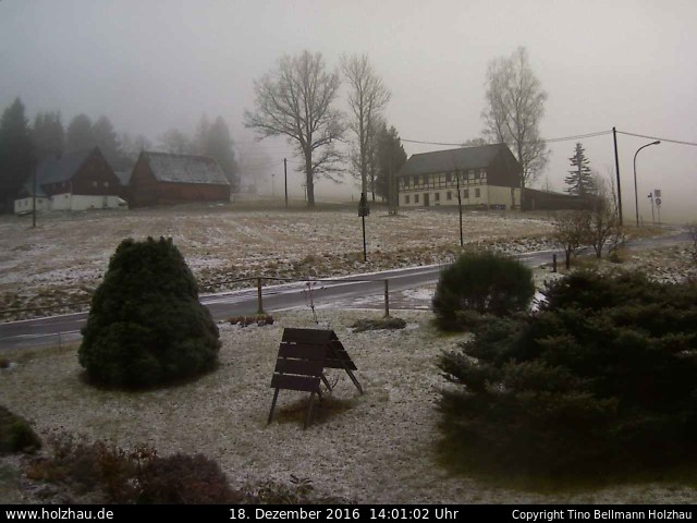 Wetter am 18.12.2016 in Holzhau (Erzgebirge)
