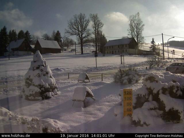 Wetter am 19.01.2016 in Holzhau (Erzgebirge)