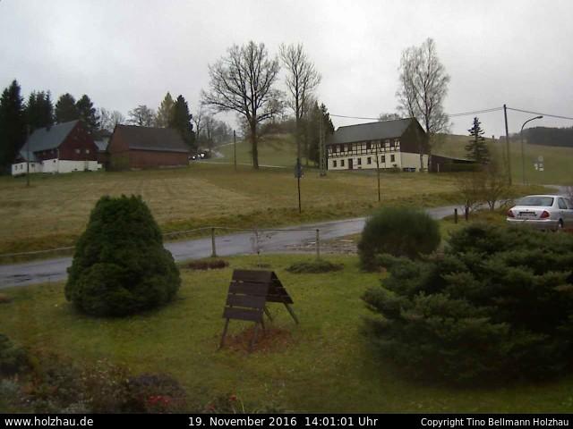 Wetter am 19.11.2016 in Holzhau (Erzgebirge)