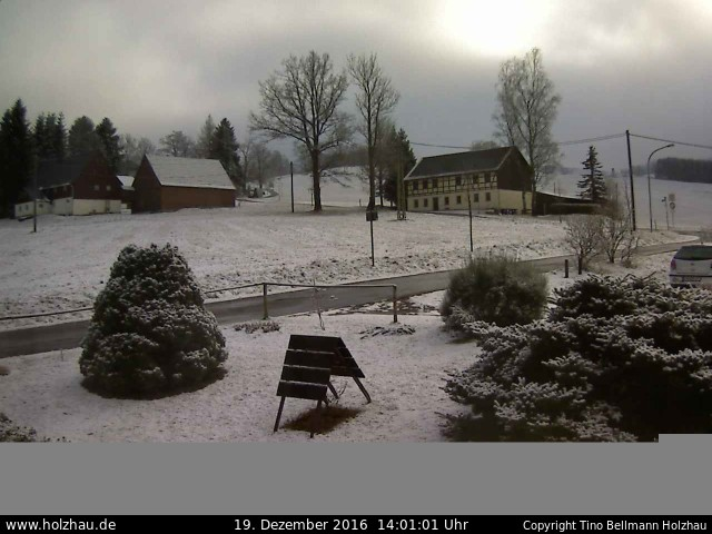Wetter am 19.12.2016 in Holzhau (Erzgebirge)