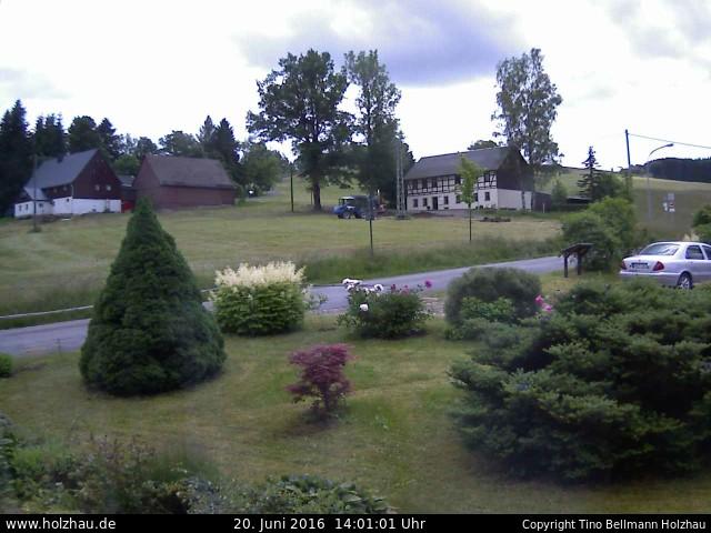 Wetter am 20.06.2016 in Holzhau (Erzgebirge)