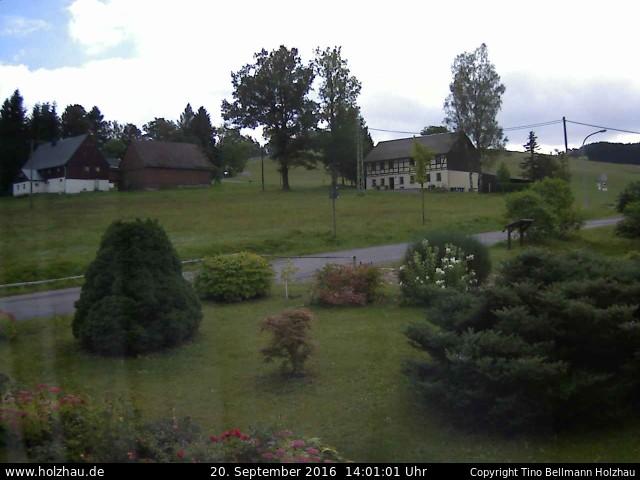 Wetter am 20.09.2016 in Holzhau (Erzgebirge)