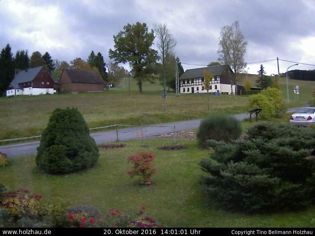 Wetter am 20.10.2016 in Holzhau (Erzgebirge)