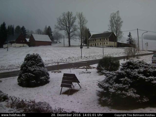 Wetter am 20.12.2016 in Holzhau (Erzgebirge)