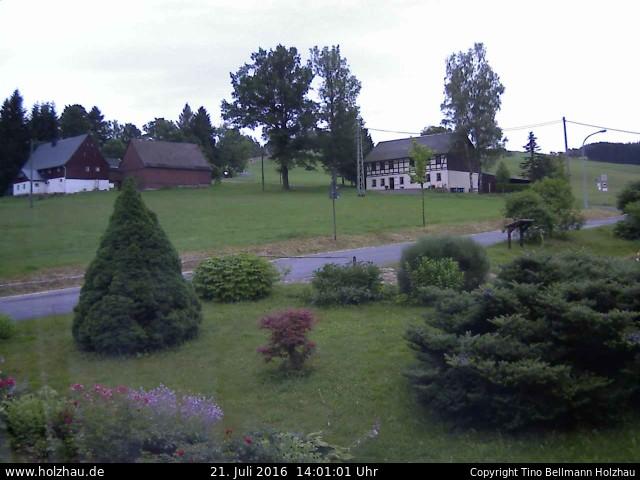 Wetter am 21.07.2016 in Holzhau (Erzgebirge)