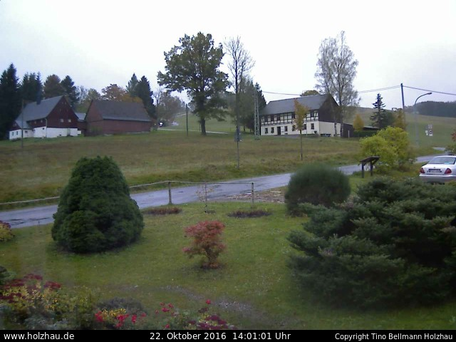 Wetter am 22.10.2016 in Holzhau (Erzgebirge)