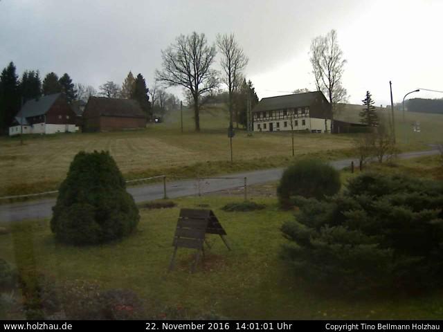 Wetter am 22.11.2016 in Holzhau (Erzgebirge)