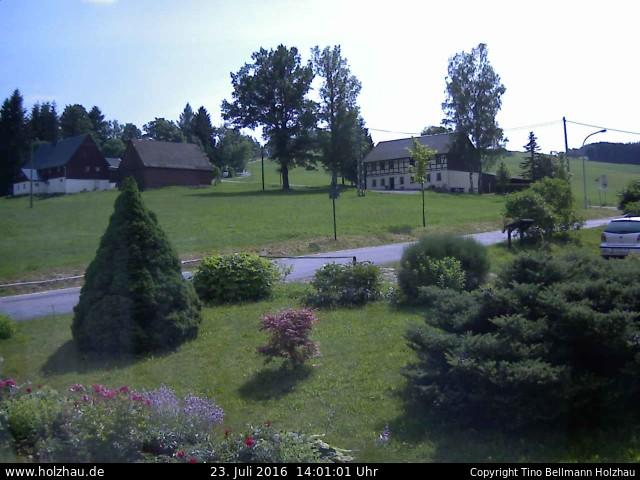 Wetter am 23.07.2016 in Holzhau (Erzgebirge)