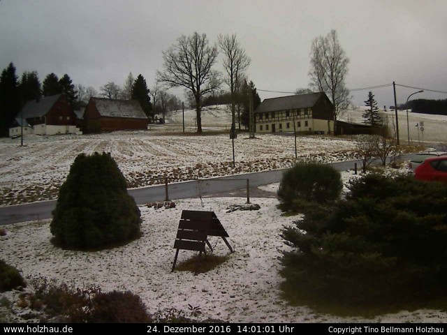 Wetter am 24.12.2016 in Holzhau (Erzgebirge)