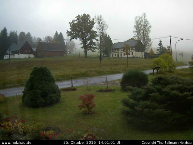 Wetter am 25.10.2016 in Holzhau (Erzgebirge)