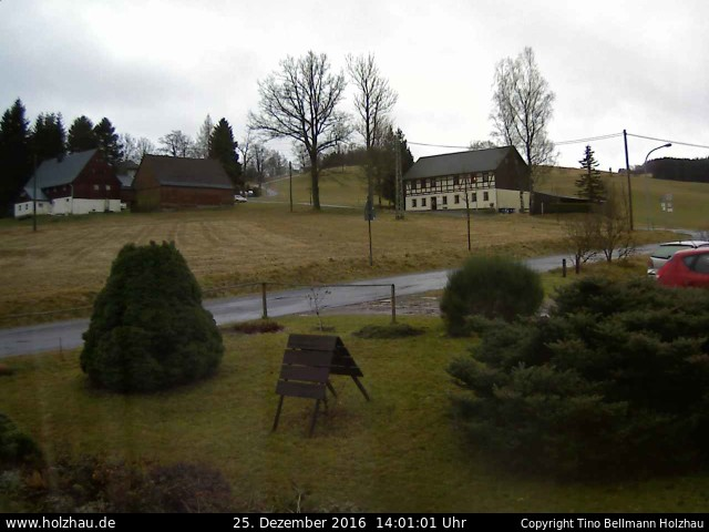 Wetter am 25.12.2016 in Holzhau (Erzgebirge)
