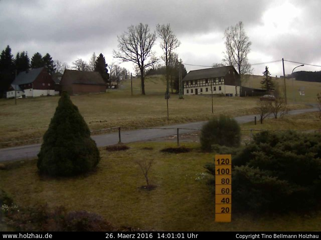 Wetter am 26.03.2016 in Holzhau (Erzgebirge)