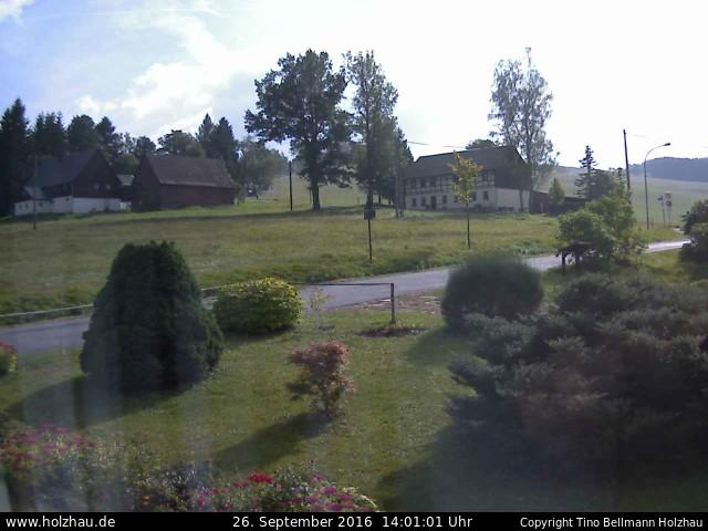 Wetter am 26.09.2016 in Holzhau (Erzgebirge)
