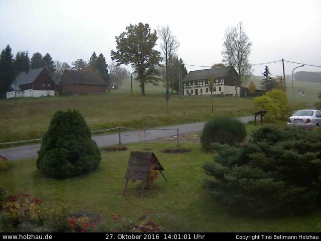 Wetter am 27.10.2016 in Holzhau (Erzgebirge)