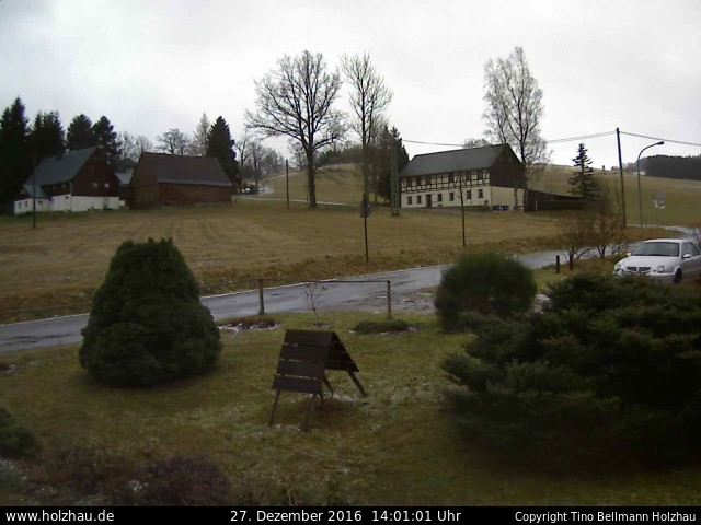 Wetter am 27.12.2016 in Holzhau (Erzgebirge)
