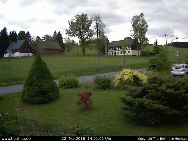Wetter am 28.05.2016 in Holzhau (Erzgebirge)
