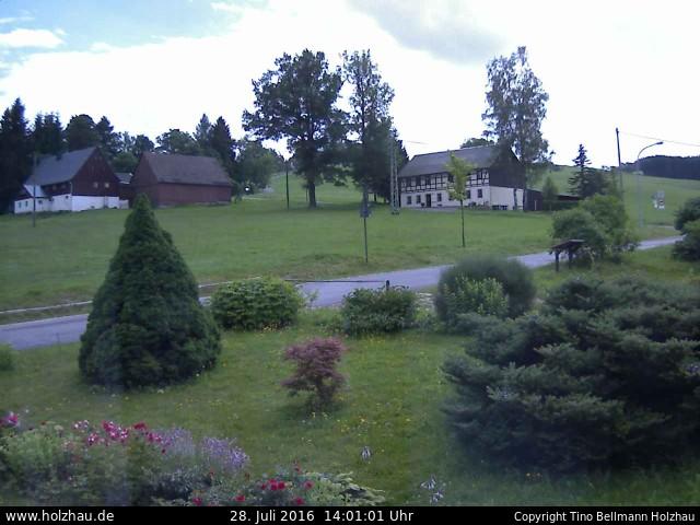 Wetter am 28.07.2016 in Holzhau (Erzgebirge)